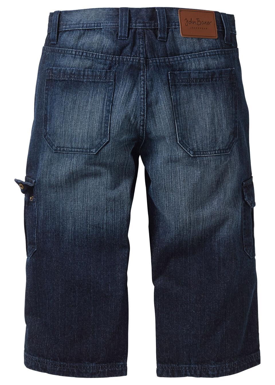 Джинсы-стретч 3/4 Regular Fit Straight