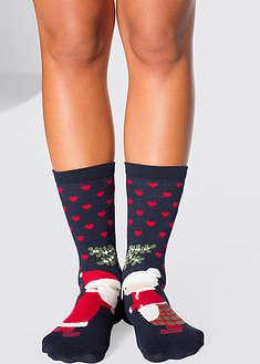 Носки в новогоднем стиле (3 шт.)-bpc bonprix collection