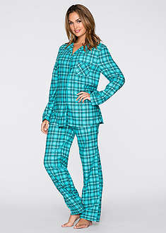 Фланелевая пижама-bpc bonprix collection