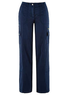 Широкие брюки из материала, напоминающего на ощупь бумагу-bpc bonprix collection