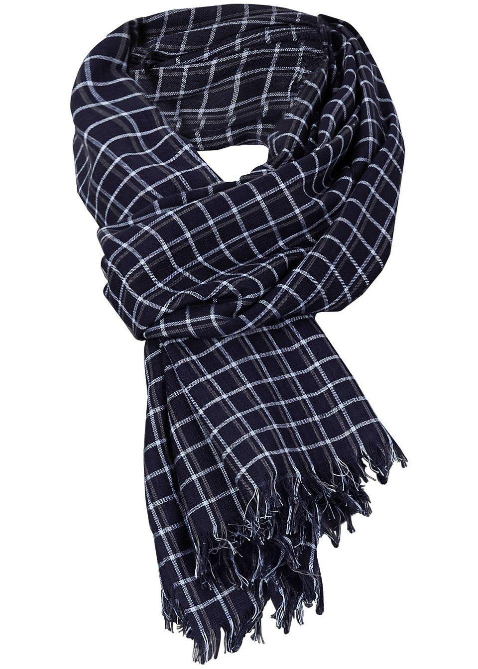 Мужской шарф «Клетка»