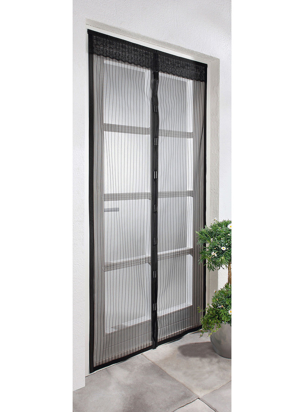 Дверная сетка-штора