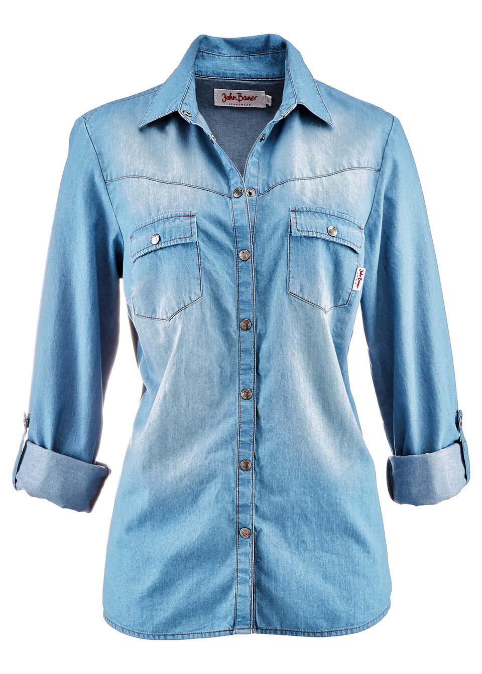 Рубашка с застежкой на кнопки