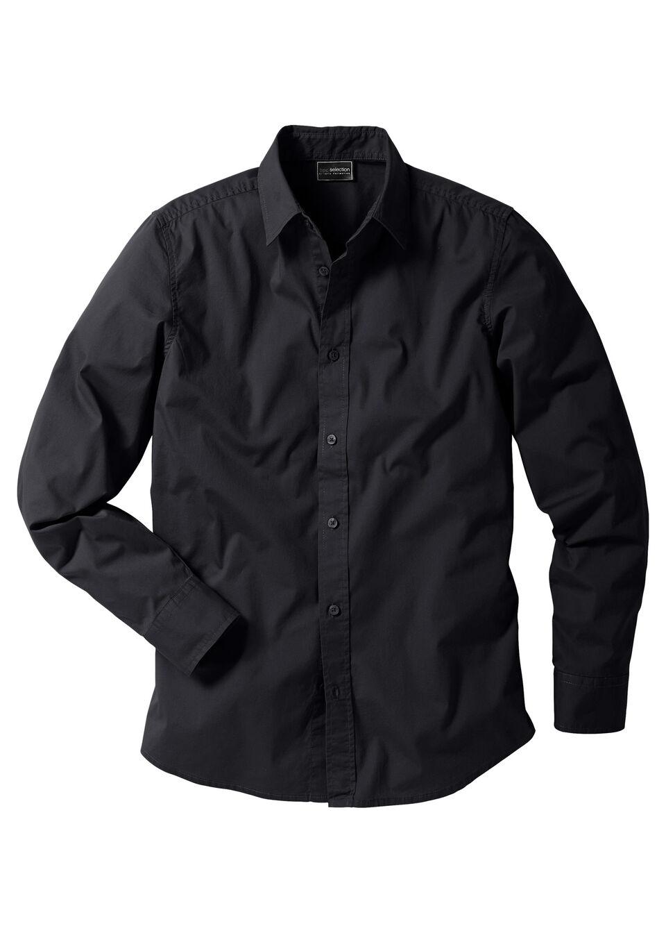 Рубашка-стретч Slim Fit от bonprix