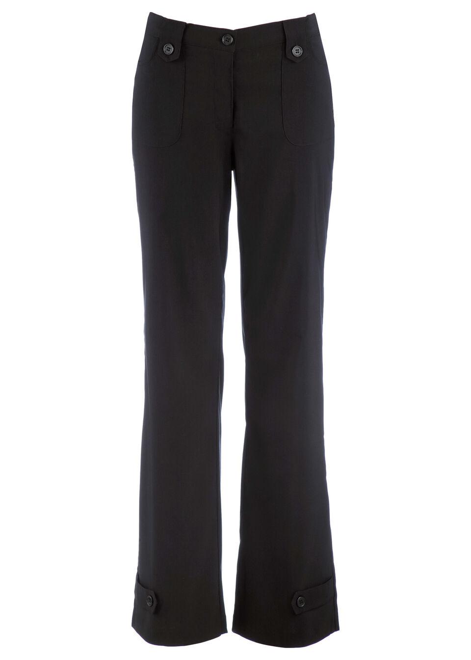 Прямые брюки-стретч из бенгалина от bonprix