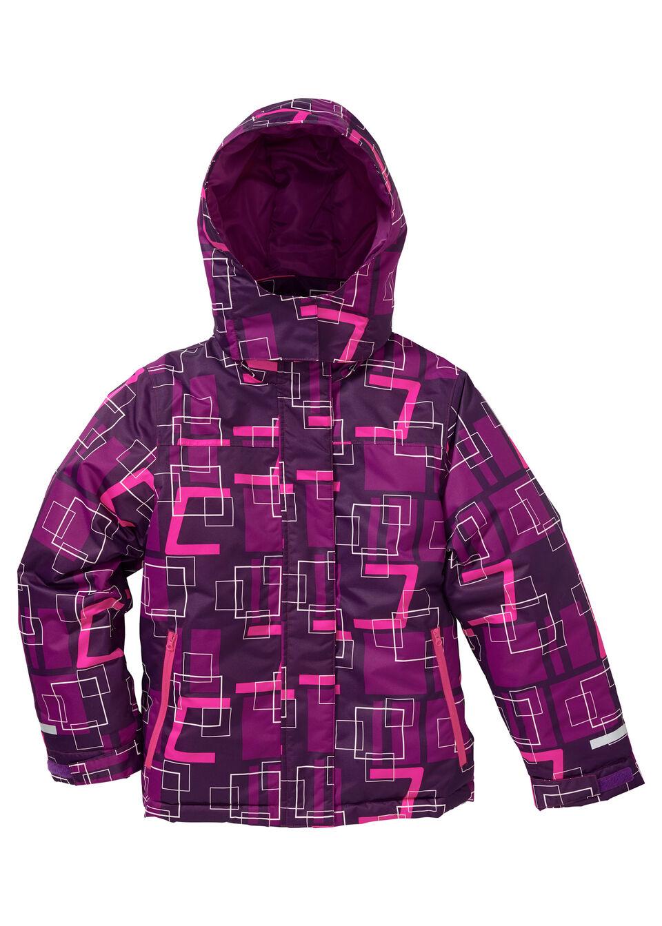 Лыжная куртка из непродуваемого и непромокаемого материала
