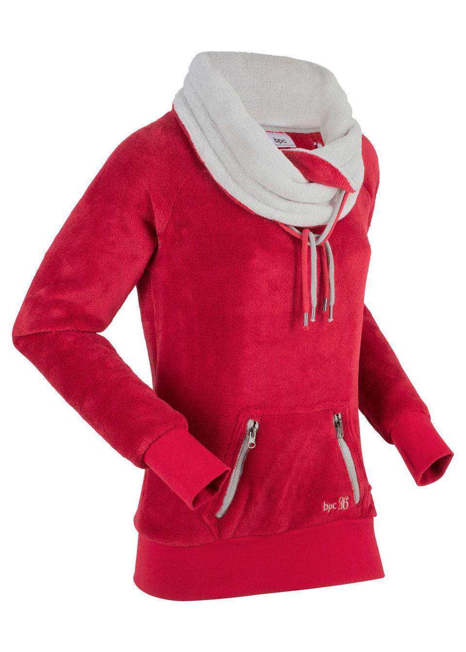 Куртка флисовая с длинным рукавом