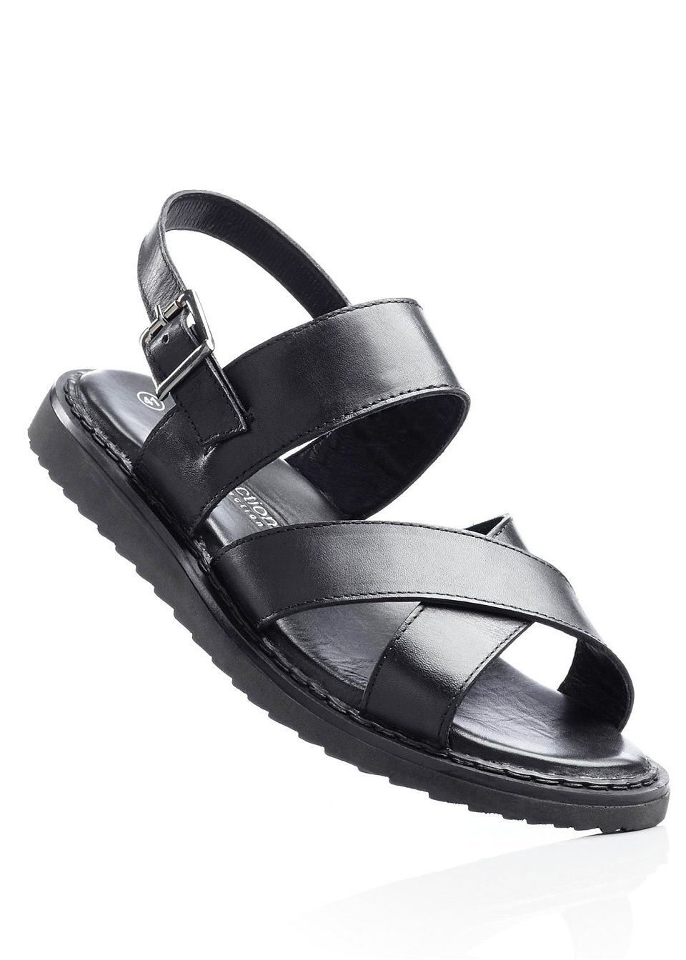 Кожаные сандалии от bonprix